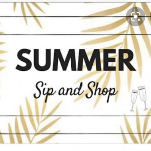 Summer Sip 'n Shop
