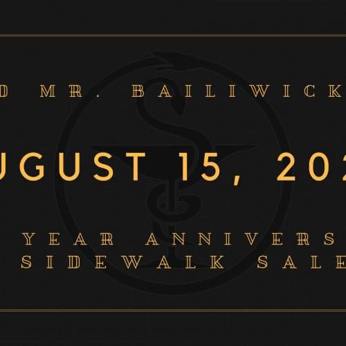 1 Year Anniversary & Sidewalk Sale