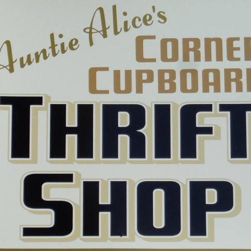 Auntie Alice's Corner Cupboard